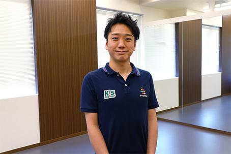 大学j時代に箱根駅伝に2度出場した町野 走一コーチ