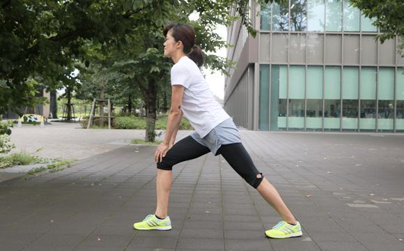 1.ふくらはぎ&アキレス腱のストレッチ(1)