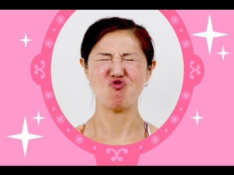 【顔ヨガ動画】目指せノーファンデ!くちゃくちゃぱっでむくみ解消