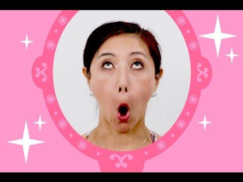 【顔ヨガ動画】ムンクの顔でほうれい線解消&デカ目!たるみ、クマ改善