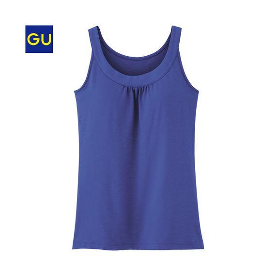 GU(ジーユー)「ブラフィールタンクトップ」