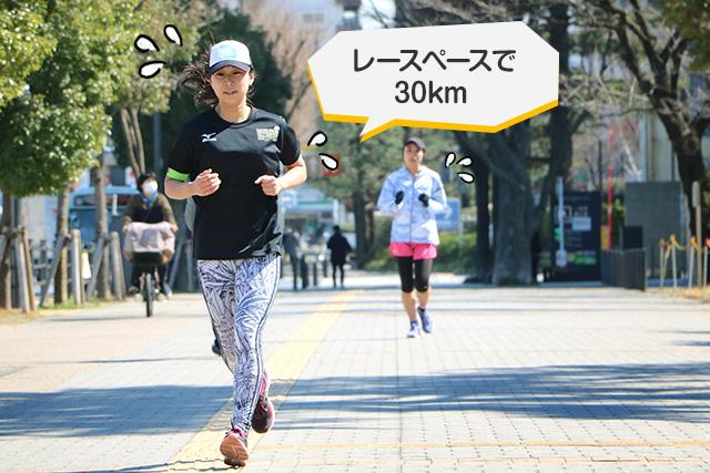 「距離走」でサブ4のレースペースとスタミナを身につけるの画像