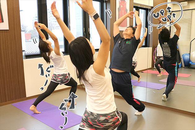 有酸素運動する女性の画像20