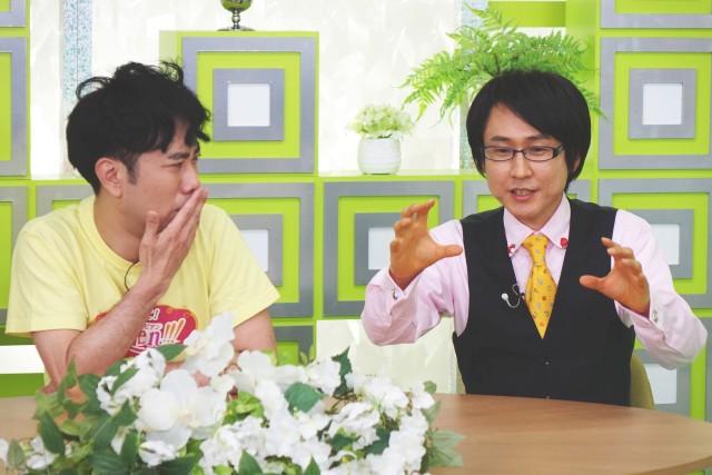 藤井隆と中野瑞樹の画像