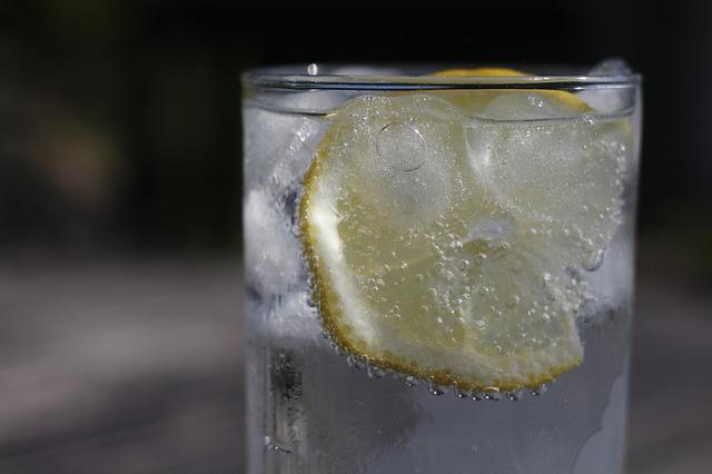 レモンウォーターの画像