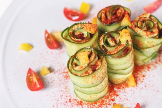 きゅうりアボカドロールサラダの画像